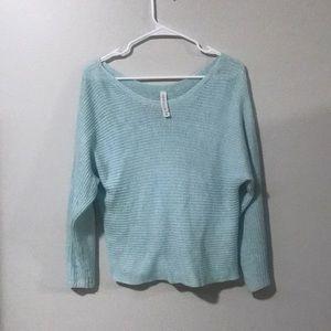 Aeropostale Baby Blue Sweater Small